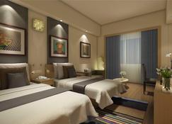 Lemon Tree Premier, Delhi Airport - Nové Dillí - Bedroom