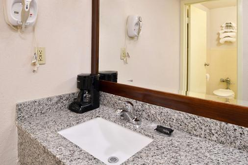 Americas Best Value Inn Augusta Historic Downtown - Augusta - Kylpyhuone