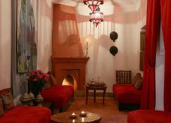 Riad Al Anouwar - Марракеш - Вітальня