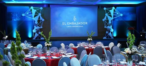 El Embajador, a Royal Hideaway Hotel - Santo Domingo - Banquet hall