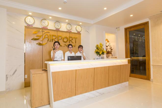 The Airport Hotel - Ho Chi Minh City - Front desk