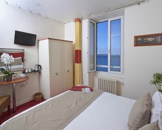 Hôtel Aux Tamaris - Роскофф - Спальня
