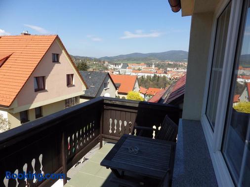 Penzion Panorama - Český Krumlov - Balcony