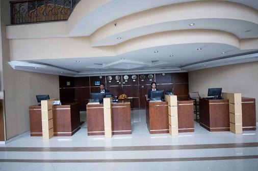 Capital Hotel & Spa - Addis Ababa - Lễ tân