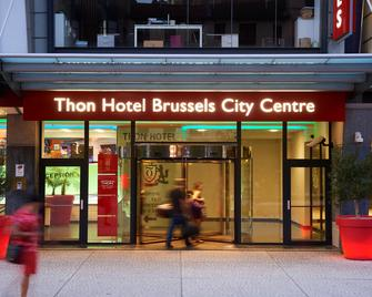 Thon Hotel Brussels City Centre - Brussel - Gebouw