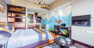 Nomo Service Apartment Grand Continental - גואנגג'ואו - חדר שינה