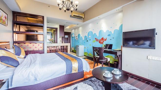 Nomo Service Apartment Grand Continental - Guangzhou - Bedroom
