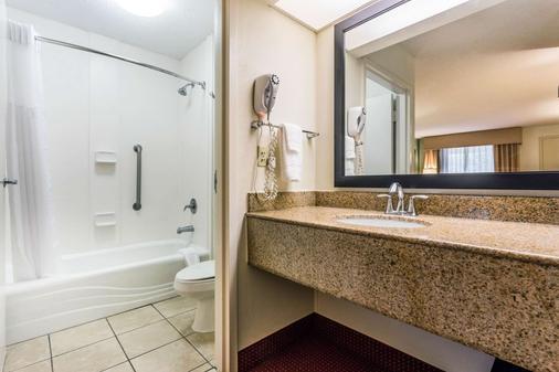 Quality Inn - Walterboro - Kylpyhuone