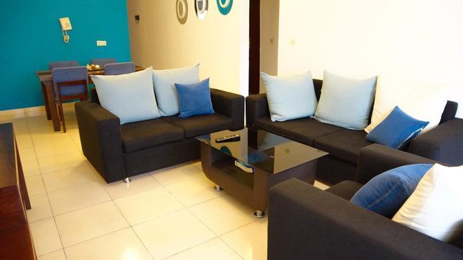 Residence Les Vallons - Abidjan - Living room