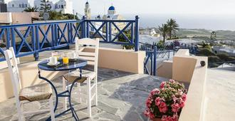 Santorini Hostel - Thera - Balcony