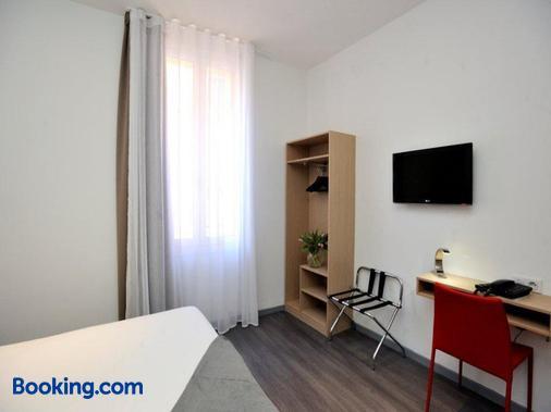 Hotel De France - Μονακό - Κρεβατοκάμαρα