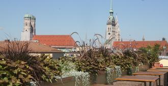 德意志橡樹酒店 - 慕尼黑 - 慕尼黑 - 室外景
