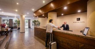 Rojas All Suites Hotel - Sao Paulo - Front desk