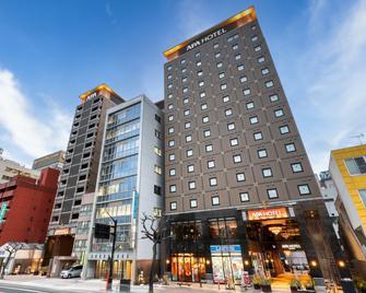 Apa Hotel Hiroshima-Ekimae Ohashi - Hiroshima - Gebäude