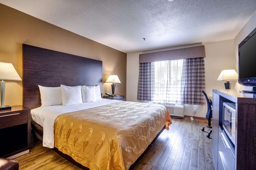 Quality Inn near Six Flags Discovery Kingdom-Napa Valley - Vallejo - Bedroom