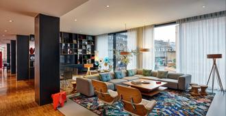 Citizenm Hotel Glasgow - Glasgow - Lounge