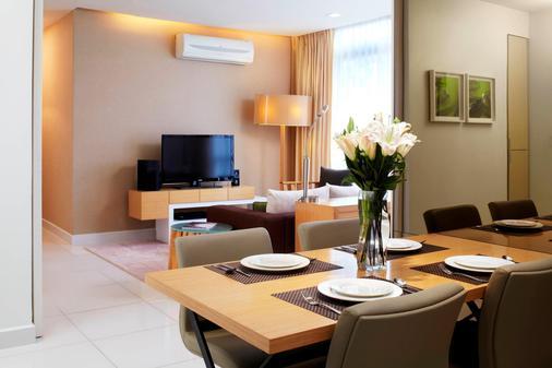 PARKROYAL Serviced Suites Kuala Lumpur - Kuala Lumpur - Ruokailuhuone