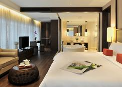 上海卓美亞喜瑪拉雅酒店 - 上海 - 臥室