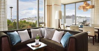 Pan Pacific Seattle - Seattle - Sala de estar