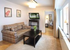 Biz Apartment Gärdet - Estocolmo - Sala de estar