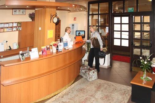 Hotel Agricola - Praha - Vastaanotto