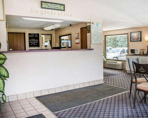 Rodeway Inn - Findlay - Rezeption