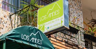 Los Andes Hostel - เมเดยิน - วิวภายนอก