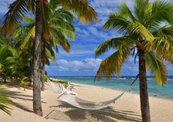 Sunset Resort - Rarotonga - Beach