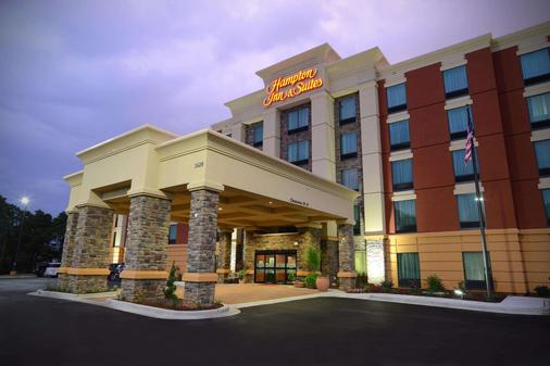 Hampton Inn & Suites Albany At Albany Mall - Albany - Rakennus