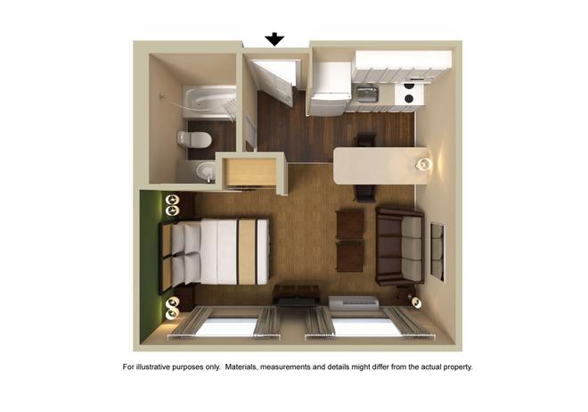Extended Stay America - Denver - Tech Center South - Greenwood Village - Greenwood Village - Floorplan