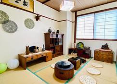 KR Apartment in Kanazawa - Kanazawa - Sala de estar