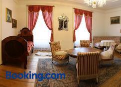 Zamek Usobi - Herálec (Havlíčkův Brod) - Sala de estar