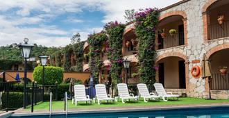 Hotel Abadia Plaza - Guanajuato - Svømmebasseng