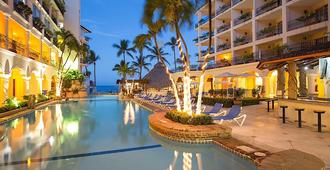 Playa Los Arcos Hotel Beach Resort & Spa - Puerto Vallarta - Bể bơi