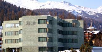 Sport & Wellness Hotel San Gian St Moritz - São Moritz - Edifício