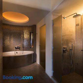 阿華頓溫泉度假酒店 - 聖托里尼 - 易莫洛林 - 浴室