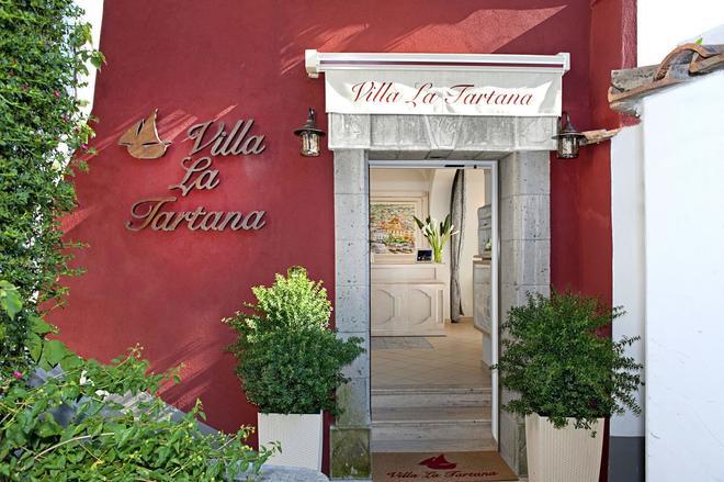 Villa La Tartana - Positano - Outdoor view