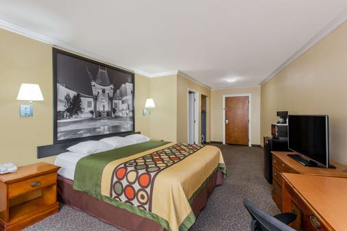 Super 8 by Wyndham Los Angeles Downtown - Los Angeles - Makuuhuone