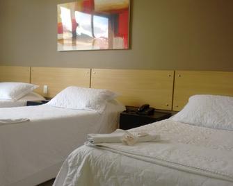 Hotel Pousada Da Água Santa - Itabira - Slaapkamer