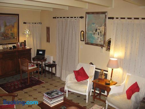 Chambres d'Hôtes l'Esterlanges - Chantonnay - Living room