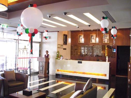 Time Dunes Hotel Apartments Oud Metha - Dubai - Front desk