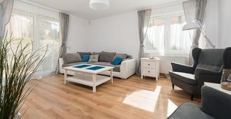 Apartinfo Apartments - Blue Side Family - Gdansk - Sala de estar