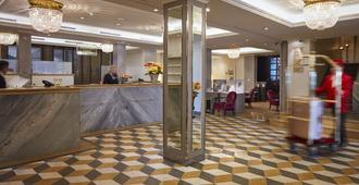 Hotel Schweizerhof Zürich - ציריך - דלפק קבלה