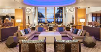 Fort Lauderdale Marriott Harbor Beach Resort & Spa - פורט לודרדייל - טרקלין