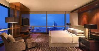 Grand Hyatt Shenzhen - שנג'ן - חדר שינה