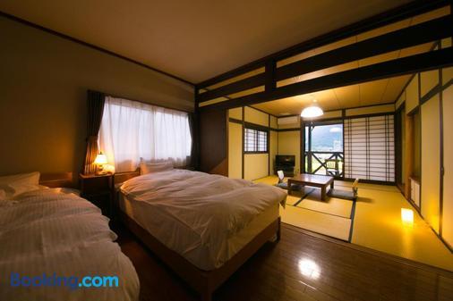 湯布院商城酒店 - 由布市 - 臥室