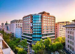 Jinmao Hotel Xi'an Downtown ( Bell & Drum Tower) - Сии'Ан - Здание