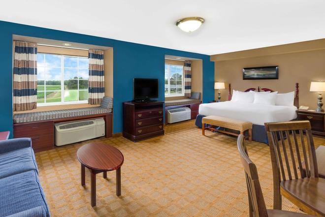 Microtel Inn & Suites by Wyndham Starkville - Starkville - Bedroom