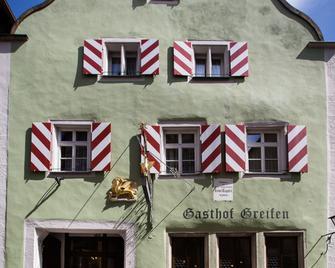 Hotel-Gasthof Goldener Greifen - Ротенбург-на-Таубері - Building