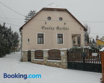 Paulay Borház és Vendégház - Tokaj - Building